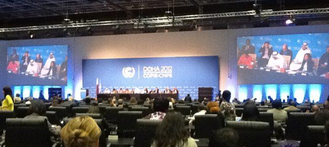 La Conferencia del Clima de Doha, una reunión con mucho contenido y poco papel