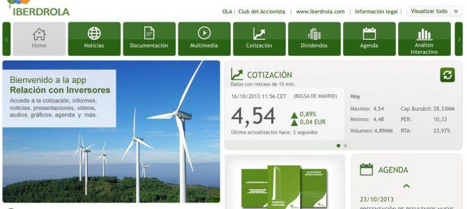 Iberdrola Relación con Inversores: inmediatez y calidad informativa