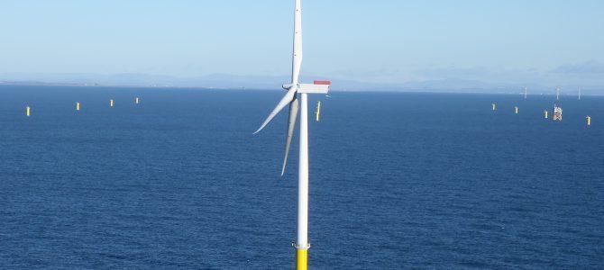 Así construimos el primer parque eólico de Iberdrola en el mar