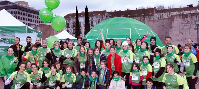 El verde esperanza contra el cáncer toma Madrid