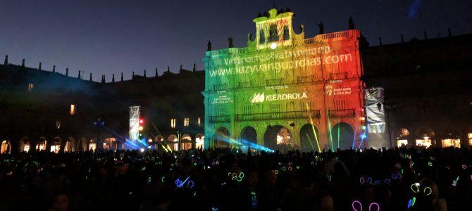 Luz y Vanguardias: arte luminoso para dar magia a la noche de Salamanca