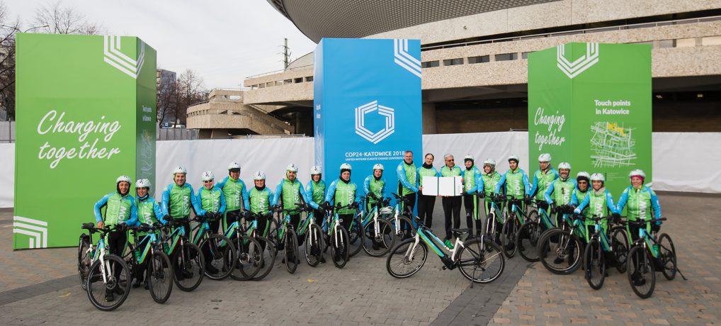 Moving for Climate NOW, marcha en bici a la COP24 para concienciar contra el cambio climático