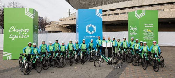 Moving for Climate NOW, marcha en bici a la COP24 para concienciar contra el cambio climático