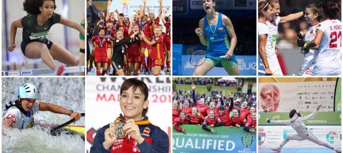 Tres años de impulso a la mujer en el deporte