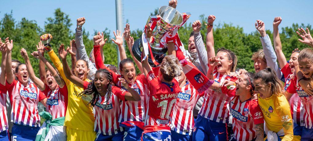La Liga Iberdrola se decidió en la última jornada. ¡Enhorabuena, tricampeonas!