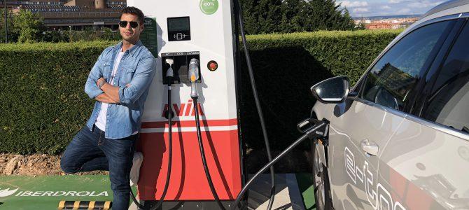 400 km en coche eléctrico parando a tomar café
