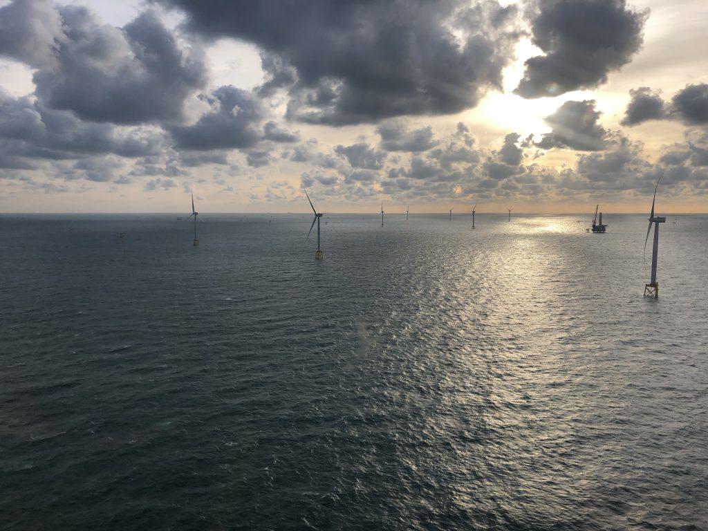 Parque eolico marino East Anglia One
