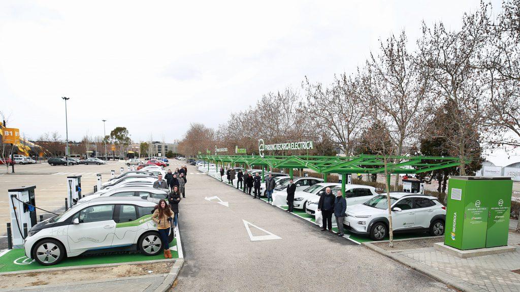 parking eléctrico IFEMA