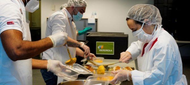 90.000 menús solidarios a personas sin recursos