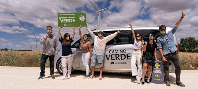 Influencers hacen el 'Camino verde' a Santiago más innovador y sostenible